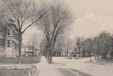 Central Elementary School in the early 1900s