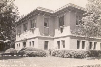 Valparaiso Public Library in the 1950s