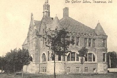 Gardner School in the 1800s