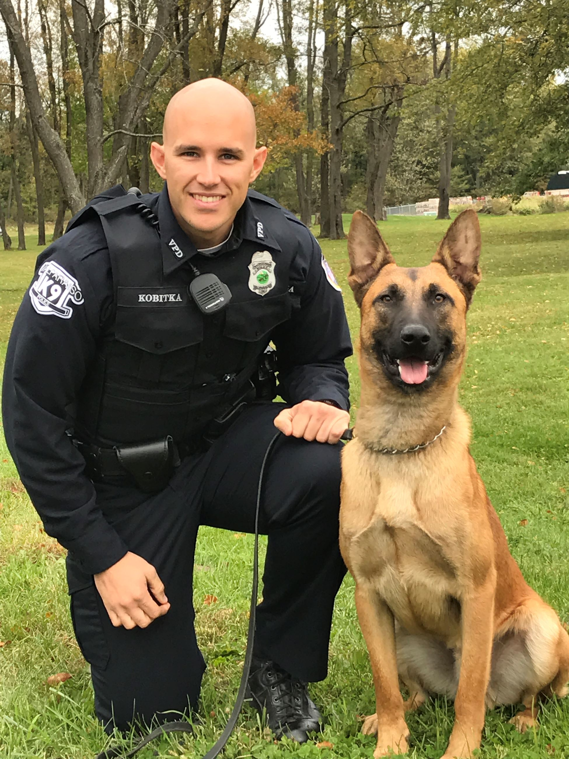 Officer Kobitka and Kaiser