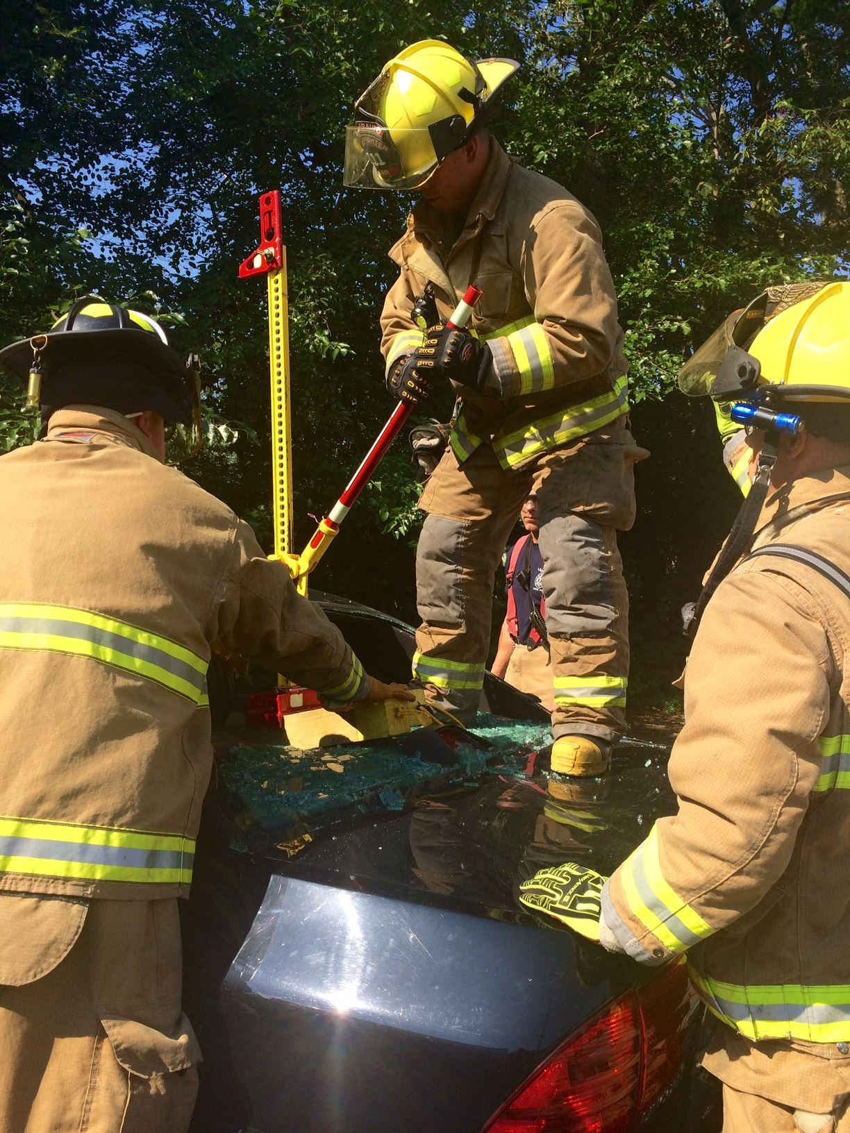 Extrication Hi-Lift Training