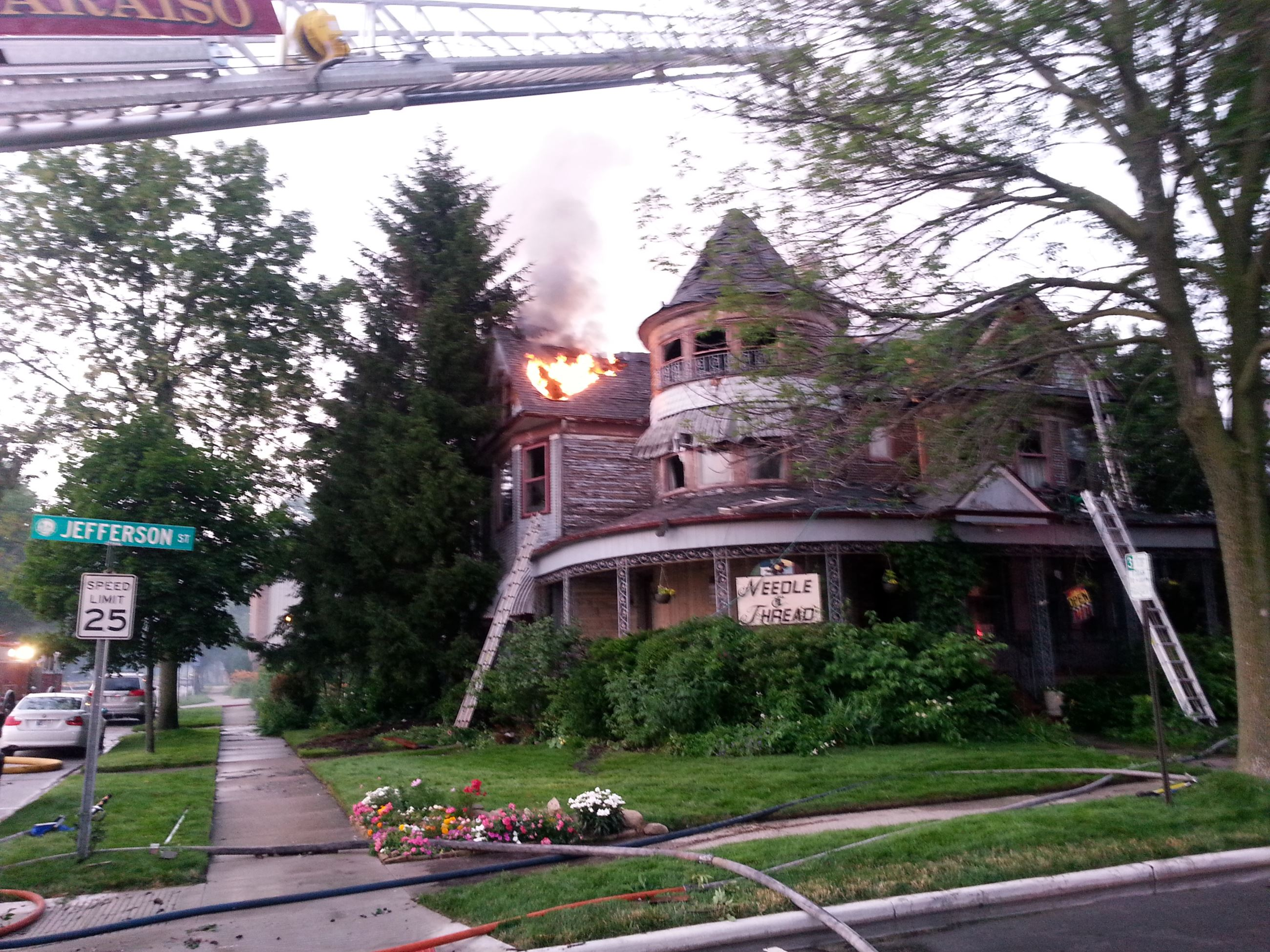 Jefferson St. Fire - 2013