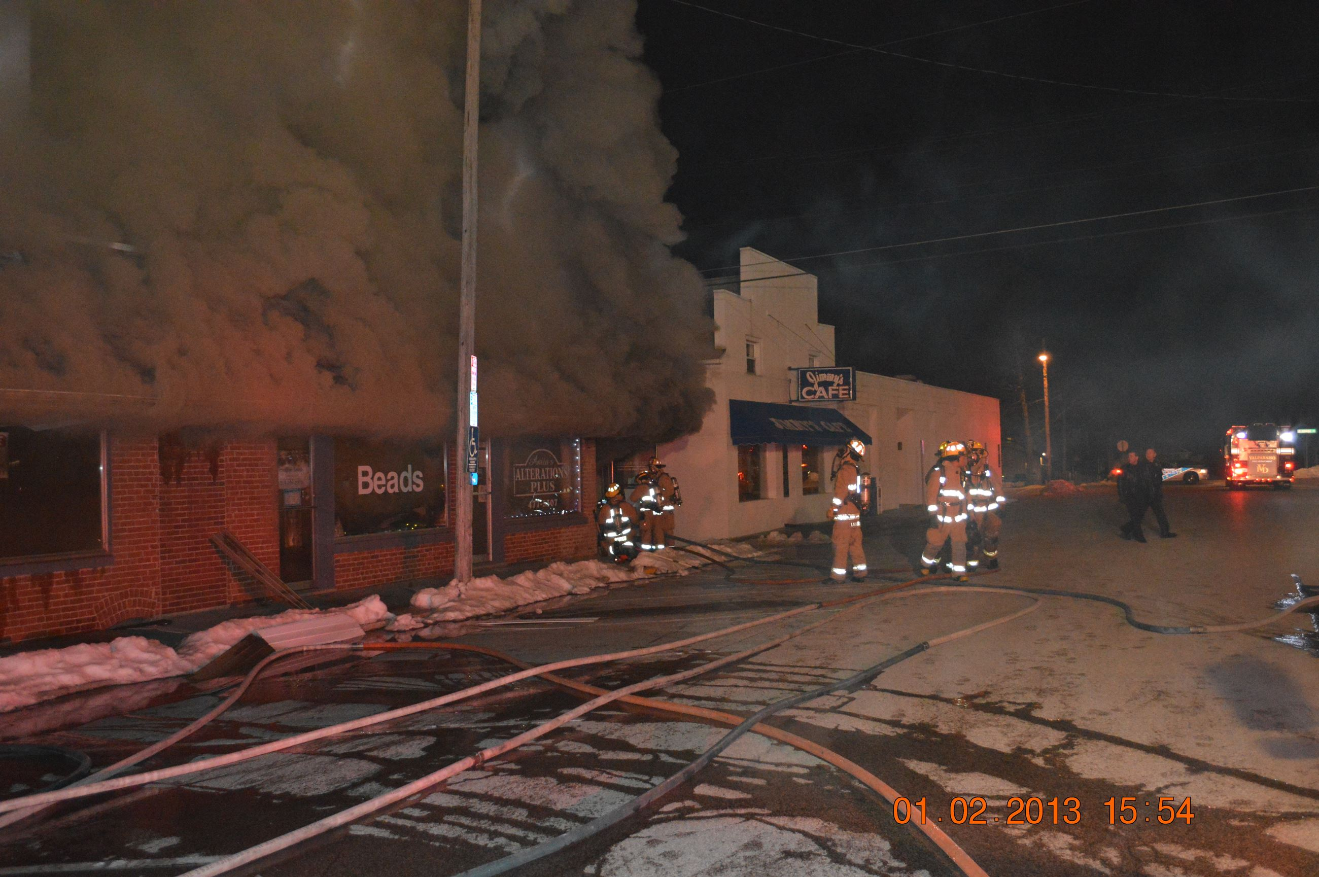 Lincolnway Fire - 2013