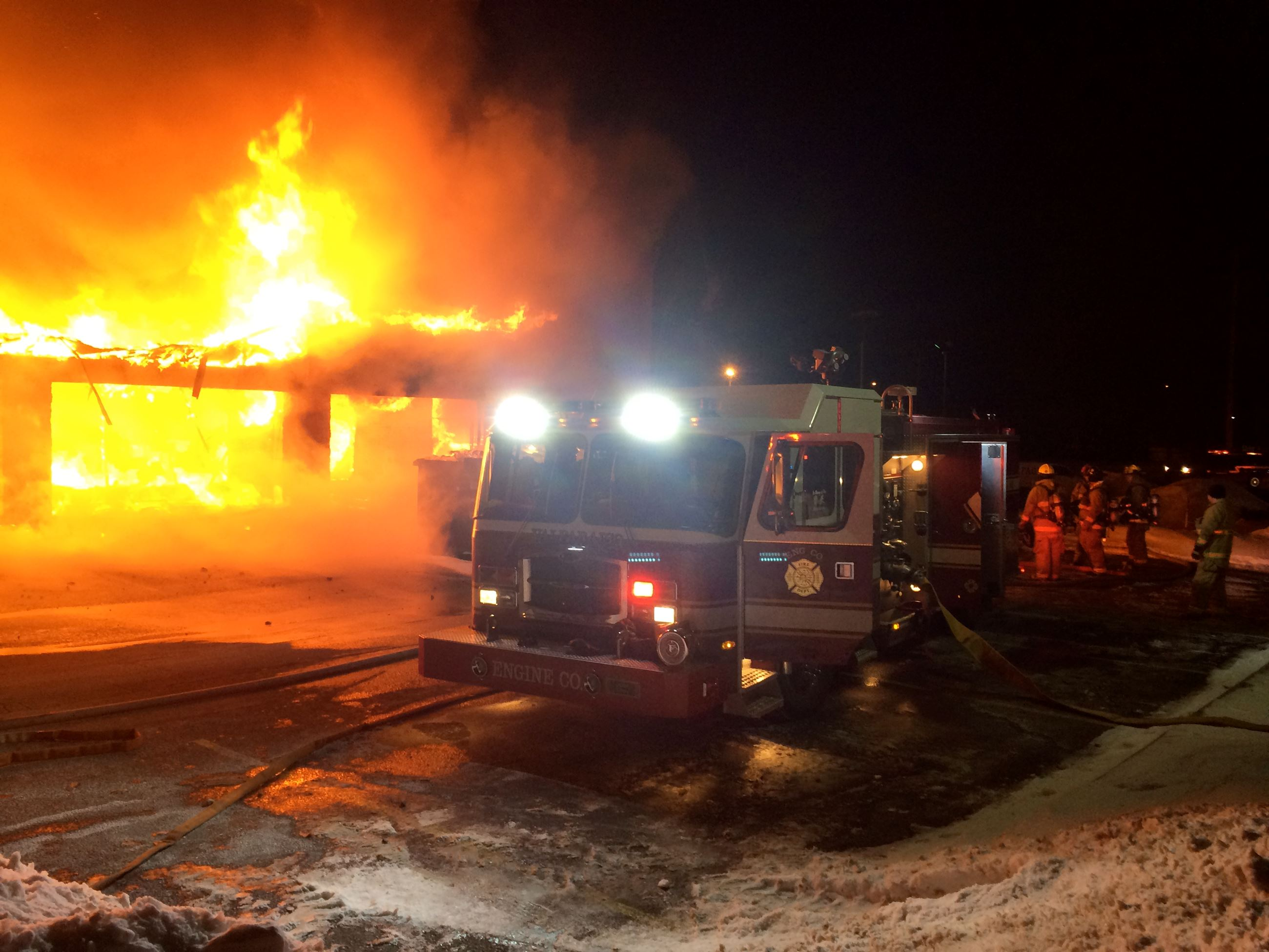 N. Calumet Ave. Fire - 2014