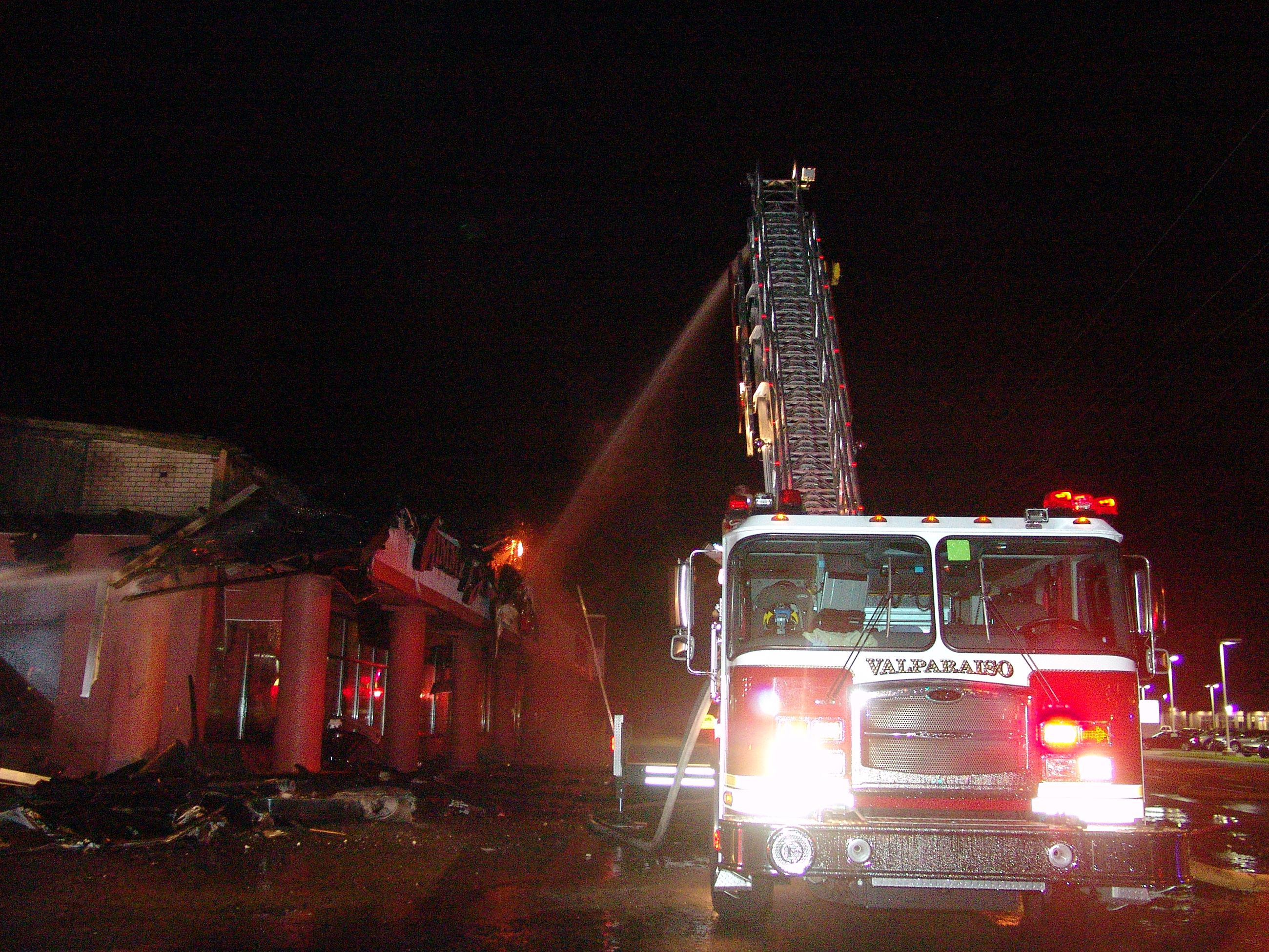 Calumet Ave Fire - 2013