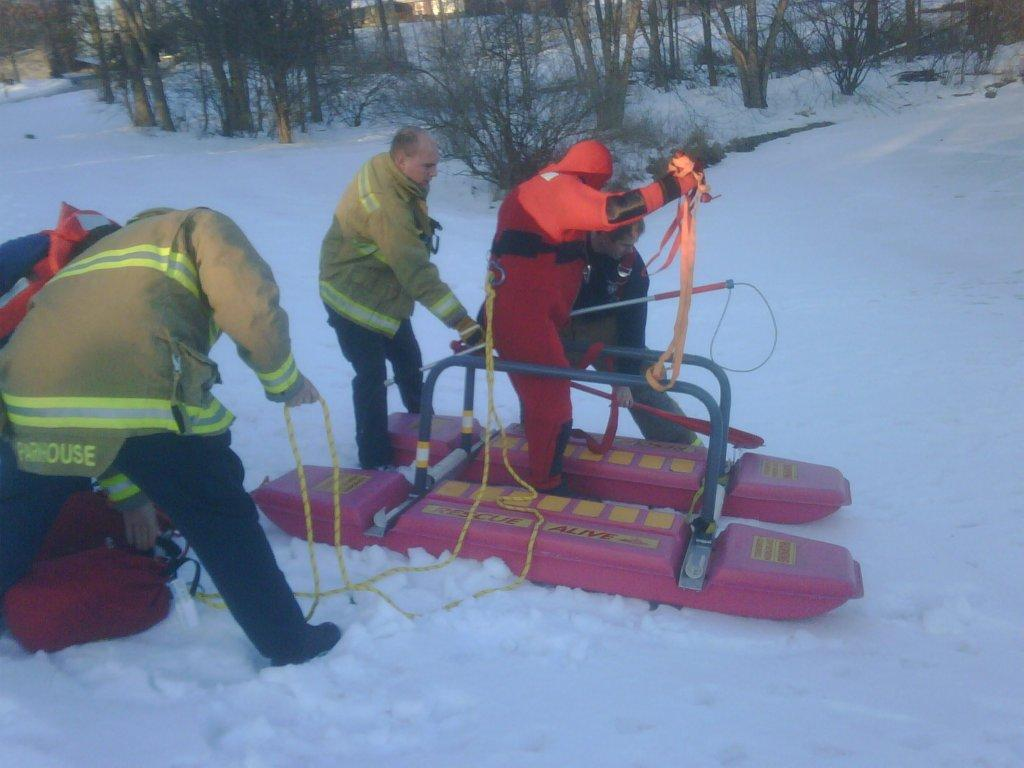 Rescue Sled - Pond Rescue