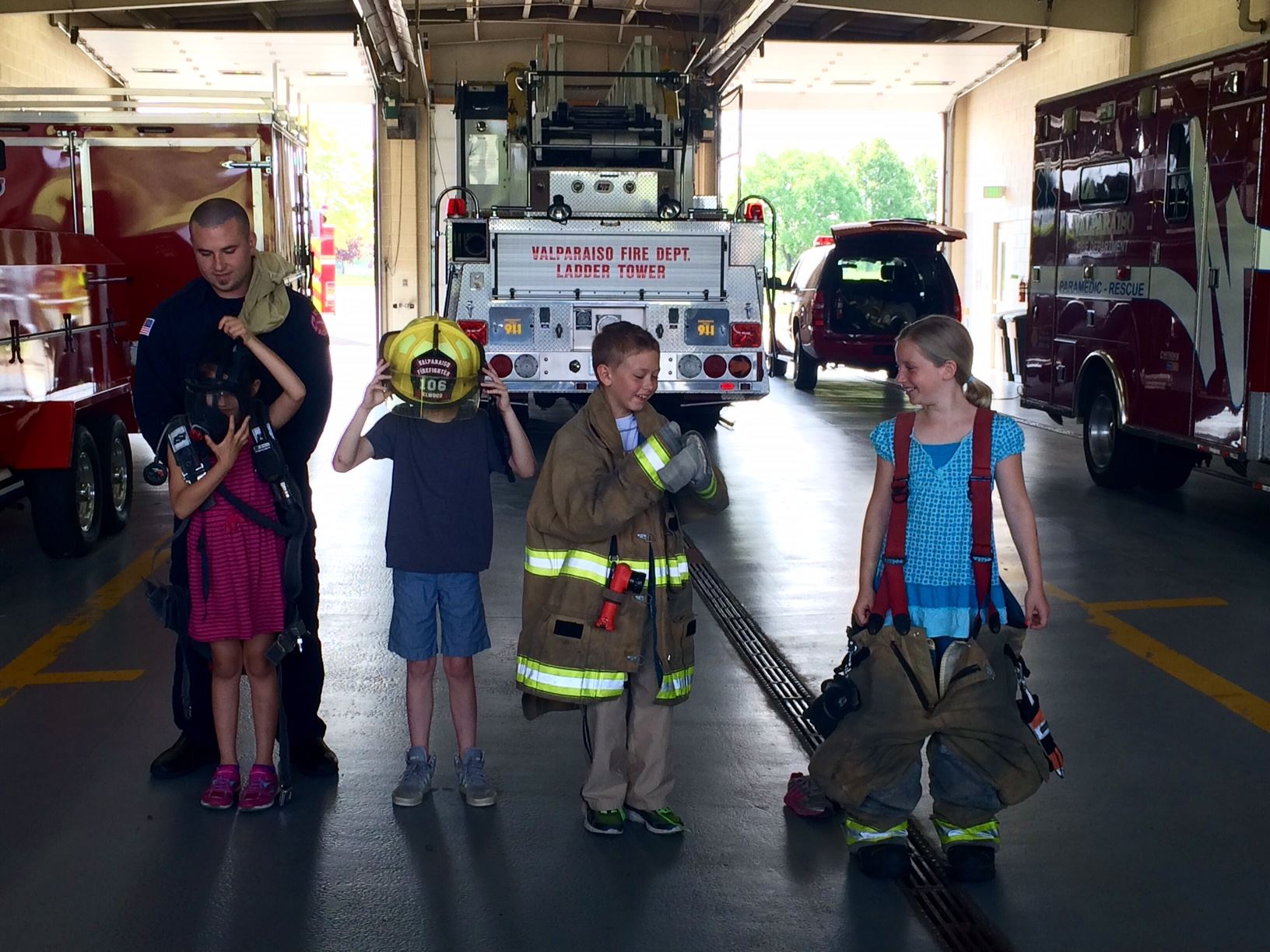 Fire Prevention & Education - Gear Demo