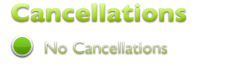 Cancellations - No Cancellations