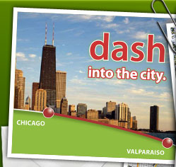 Dash into the City