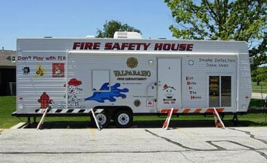 Valparaiso in photo gallery for Fire safety house