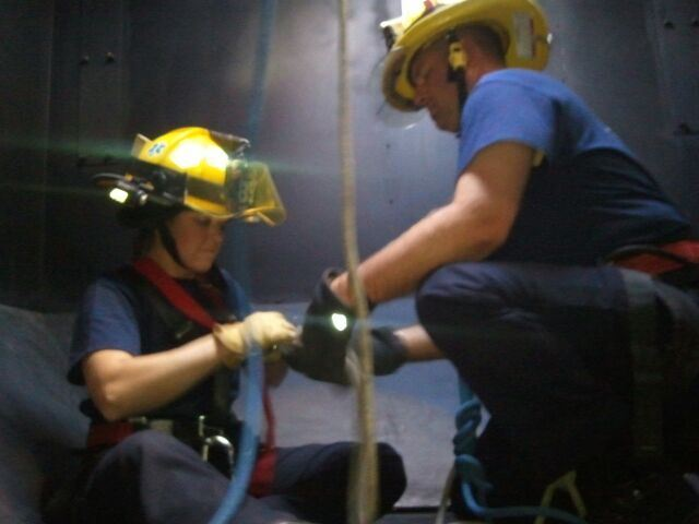 Confined Space - Rope Rescue Training