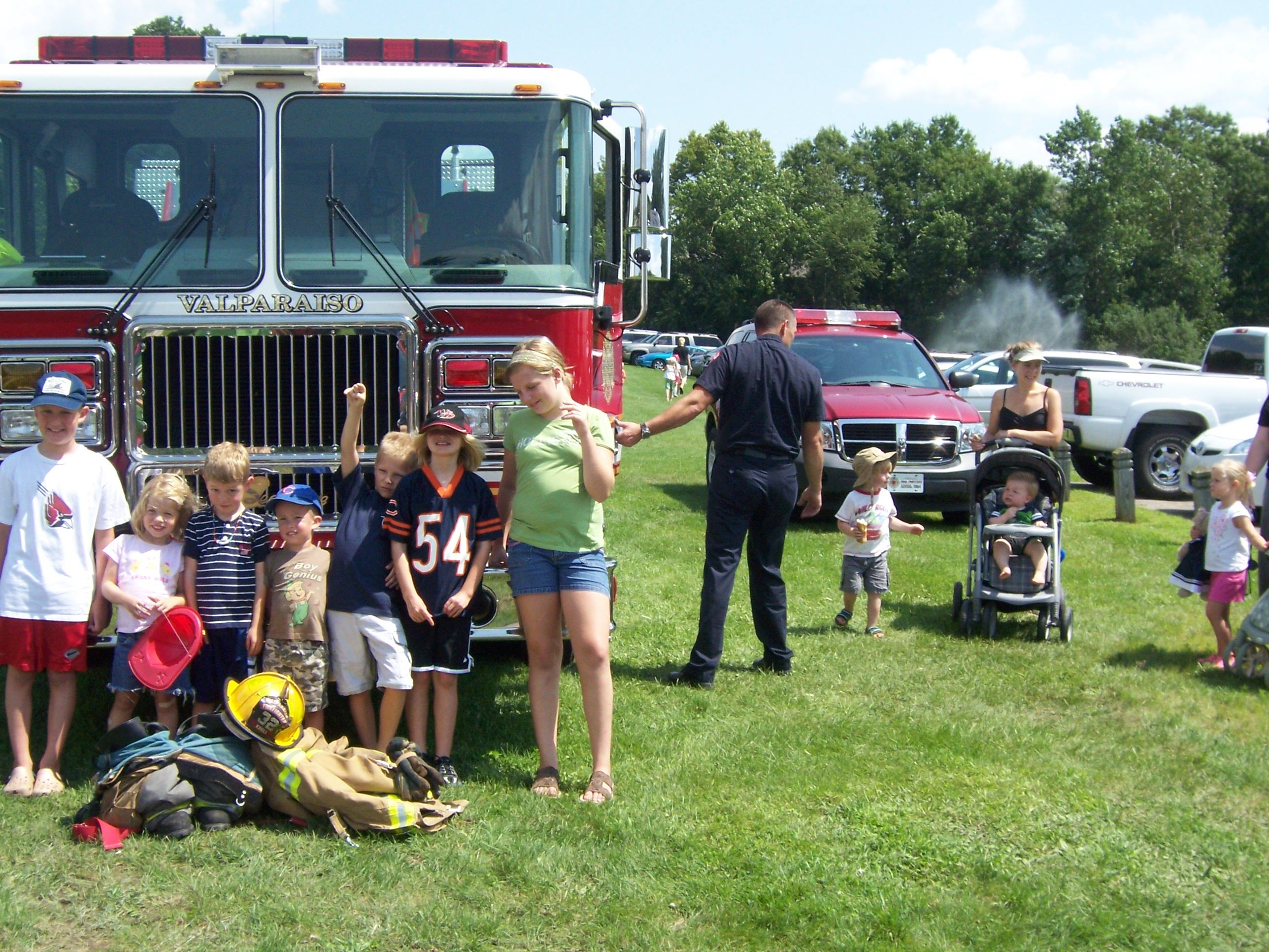 Picnic with the Firemen
