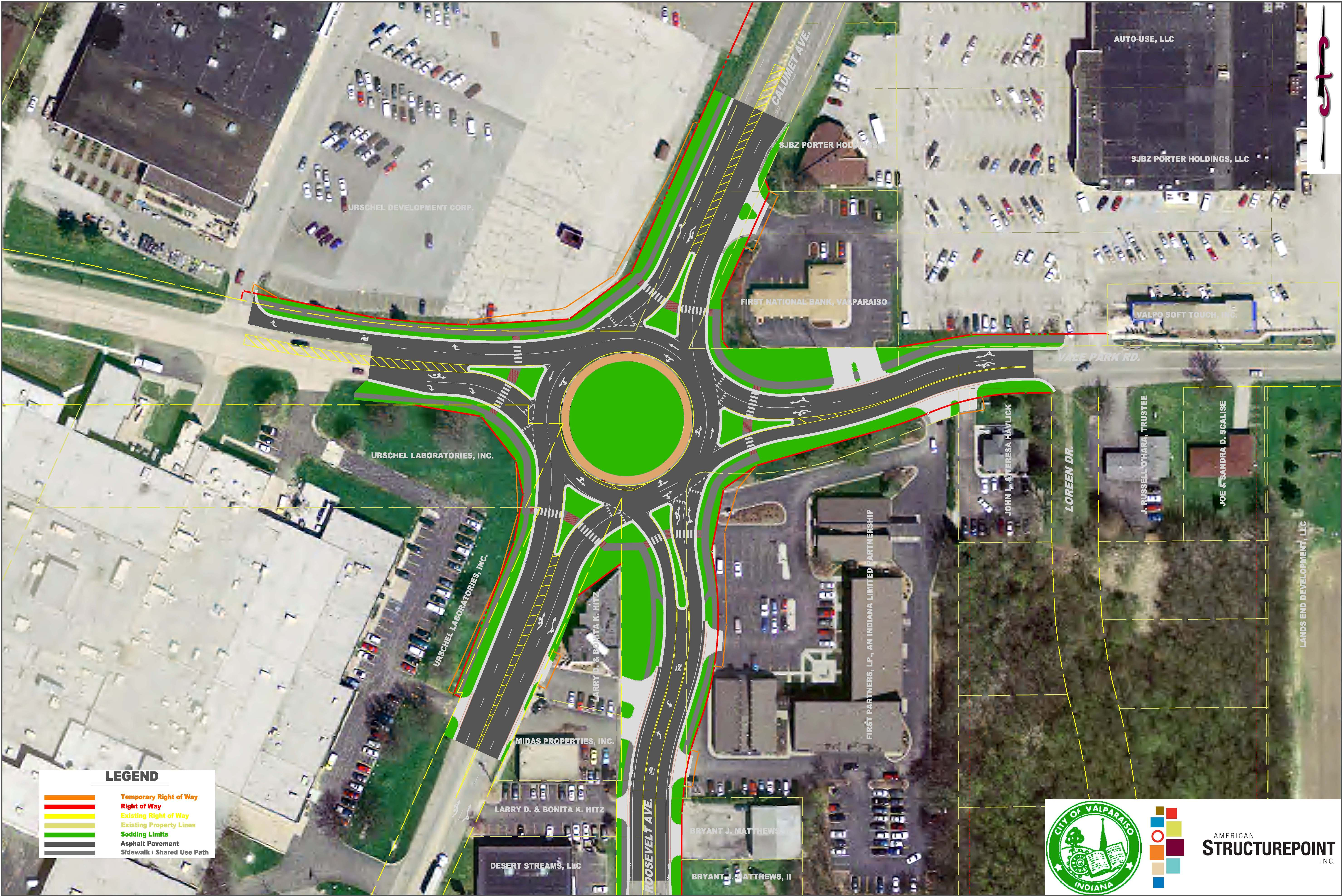 Crash prone 'modern roundabouts'